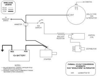 farmall h regulator wiring 6v to 12v - page 2 - farmall cub