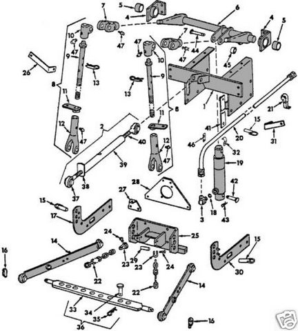 ebay farmall cub parts with Viewtopic on Farmall Super A Wiring Diagram also International Harvester 504 Tractor Parts moreover Hydraulic Valve Chamber Kit Massey Ferguson 1810678m91 130473534381 further Isuzu Npr Wiring Diagram Tcm also John Deere 460 Wiring Diagram.
