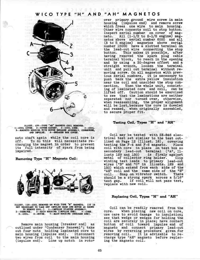 Gss 5035 Service Manual Magnetos Wico Magneto Wiring Schematic Page 63