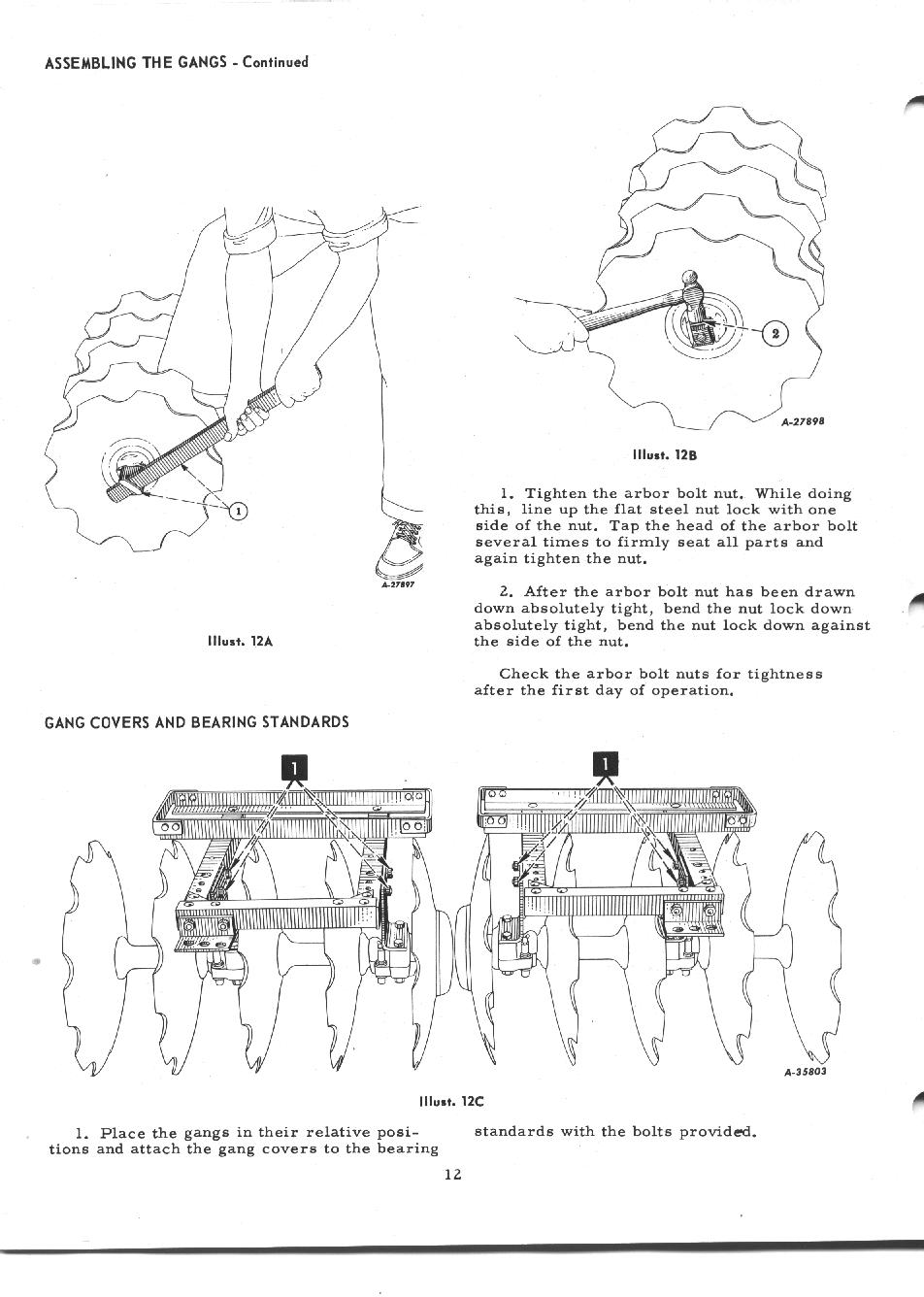Cub l 38 disc harrow manual page 12 pooptronica
