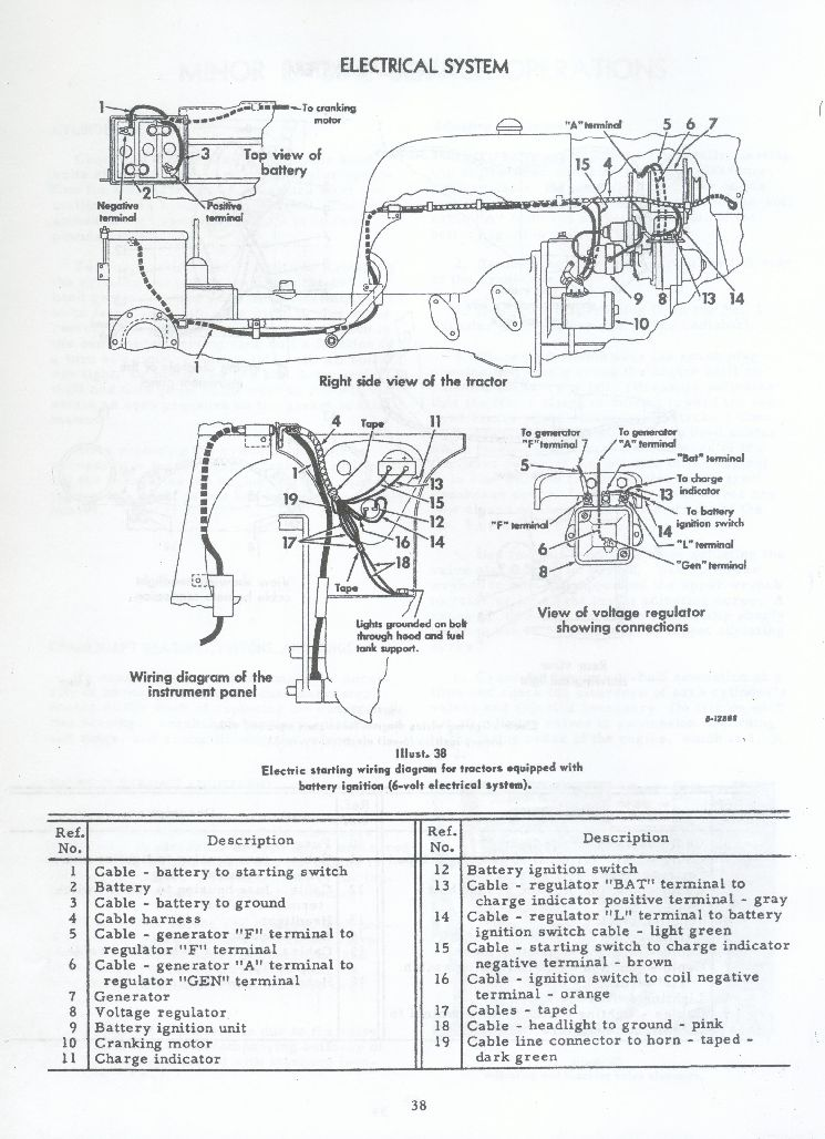 1948 Farmall H Wiring Diagram Wiring Wiring Diagram Images