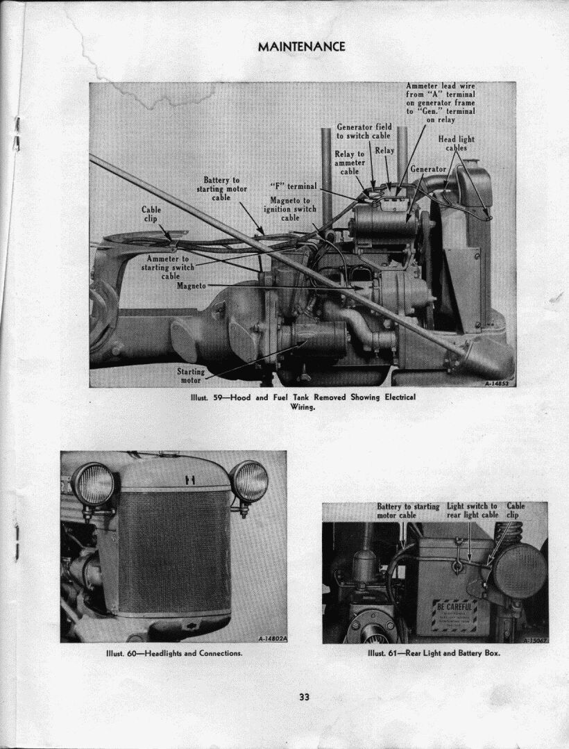 49 Not Charging Farmall Cub Car System Diagram On International Wiring The Next Page In Manual Has And A Pic Behind Dash Your Switch Might Be Different Position Ih Moved After Few