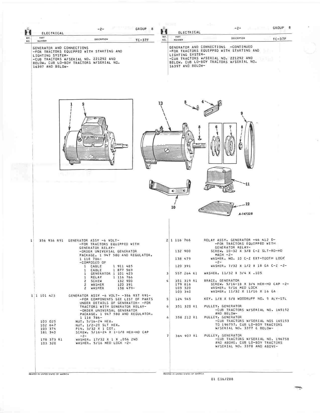 Page%2008-02 Farmall Cub Wiring Diagram Volt Without Lights on