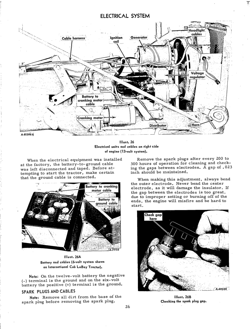 Wire For Harness Replacement Farmall Cub Voltage Regulator Wiring Diagram Http Rudi Clea Age 26