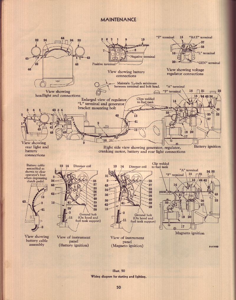 1957 Low Boy Light Switch Farmall Cub 1956 Wiring Diagram Schematic Http Rudi Clea E2051 Below Is A