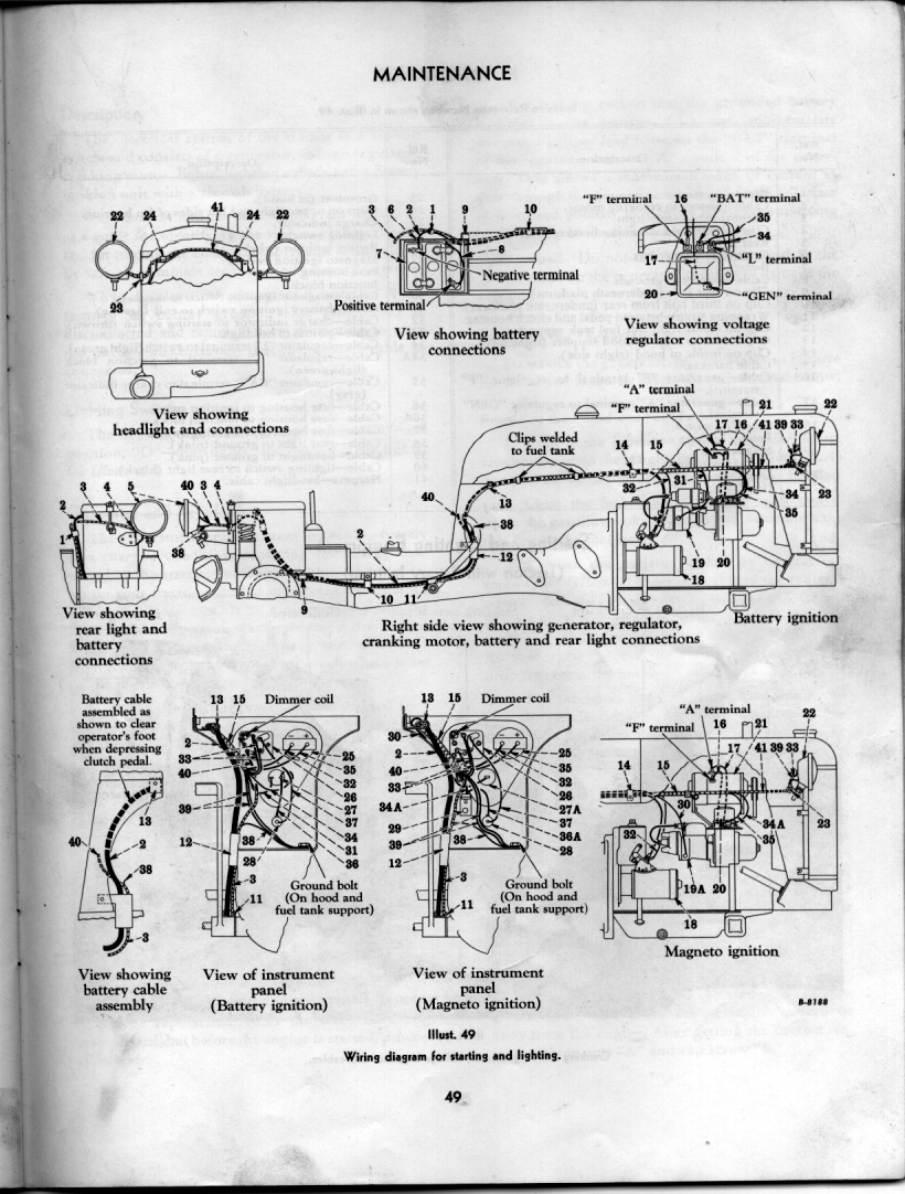 Rock Restoration Project Page 25 Farmall Cub Wiring Diagram Regulator Http Rudi Clea E2049